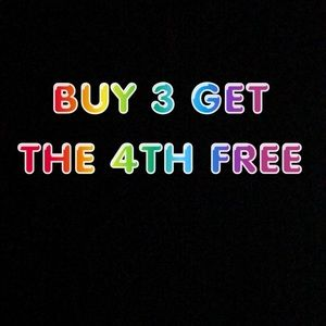 Buy 3 items and get the 4th free.